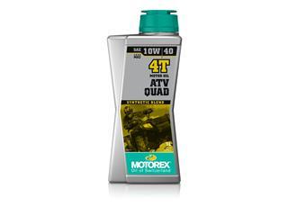 Huile Moteur MOTOREX ATV Quad 4T 10W40 100% synthétique 1L
