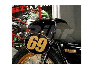 Paneles laterales (par) Kawasaki W800 W650, negro