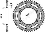 Couronne PBR 45 dents acier standard pas 525 type 4454
