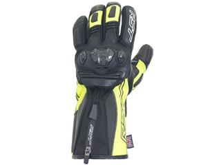 RST Ladies Paragon V CE Waterproof Gloves Leather/Textile Flo Yellow Size S/06 Women