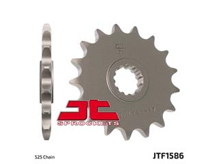 JT SPROCKETS Front Sprocket 17 Teeth Steel Standard 525 Pitch Type 1586