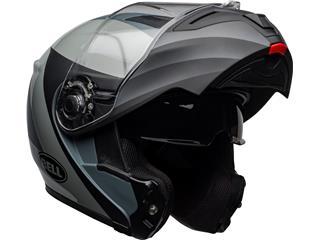 BELL SRT Modular Helmet Presence Matte/Gloss Black/Gray Size M - 8cdb8d93-a0b1-4f7e-9122-50e82d0dd78f