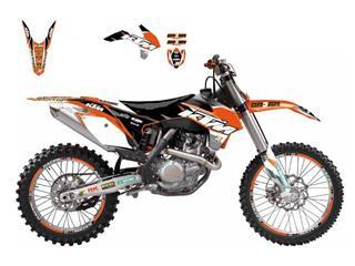 Kit déco BLACKBIRD Dream Graphic 3 KTM EXC - 78177133