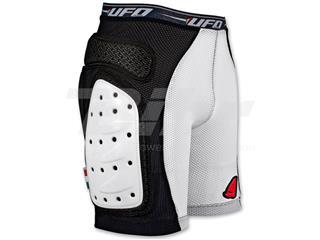 Pantalones cortos UFO con protecciones blanco talla L PI06281KL