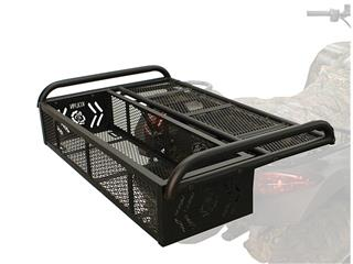 Kolpin Convertible Rear Drop Rack ATV Black