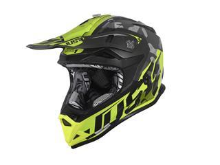 JUST1 J32 Pro Helmet Swat Camo Fluo Yellow Matt Size S