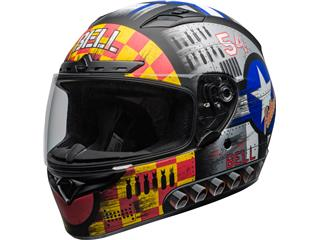 BELL Qualifier DLX Mips Helmet Devil May Care Matte Grey Size XL