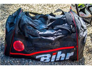 BIHR Travel Bag high capacity 128L - 80 x 40 x 40cm Black Red