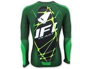 UFO Atrax Undershirt with Back Protector Green Size L/XL