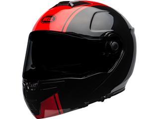 BELL SRT Modular Helmet Ribbon Gloss Black/Red Size XXL - 8df09420-9394-4b36-8fec-35805aa14574