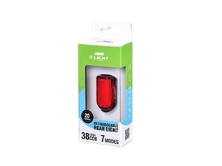 Luz traseira USB 20Lm, 38 chips COB LED, 7 modos - 8df9b52e-942b-45db-be6b-12f3c1b1f3ff
