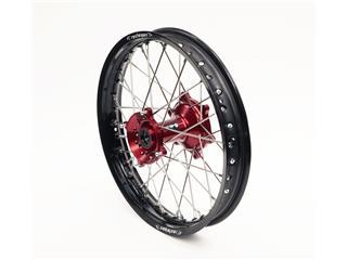 ART Complete Rear Wheel 19x1,85x36T Black Rim/Red Hub/Silver Spokes/Silver Spoke Nuts