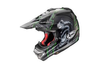 Casque ARAI MX-V Barcia Green taille S - 43101821S