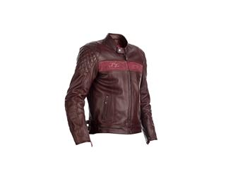 Blouson RST Brandish CE cuir rouge taille XXL homme