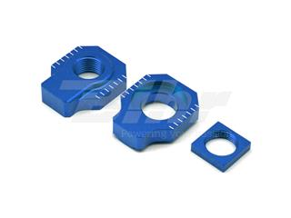 Tensores de eje trasero ART KTM/Husqvarna azul
