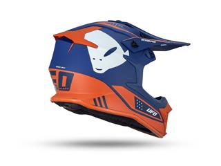 UFO Intrepid Helmet Blue/Neon Orange Size XS - 8e7ac605-681f-4441-bc9d-6b2c48b2a00d