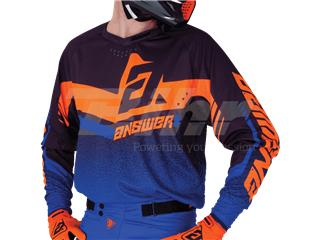 Camiseta ANSWER Trinity Negro/Azul Oscuro/Naranja Flúor Talla XXL - 8ef01335-6b90-4f71-8587-3171d8b02567