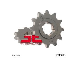 JT SPROCKETS Front Sprocket 11 Teeth Steel Standard 420 Pitch Type 413