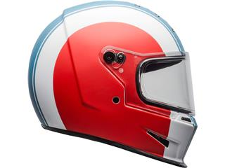 Casco Bell Eliminator SLAYER Blanco/Rojo/Azul, Talla M