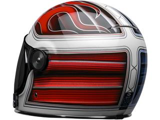 Casque BELL Bullitt DLX SE Baracuda Gloss White/Red/Blue taille M - 8f8dffed-eafe-4ef4-987b-fad5deff797f