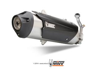 MIVV URBAN Stainless Catalyzed Full Exhaust System Yamaha Majesty 400