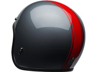 BELL Custom 500 DLX Helmet Rally Gloss Gray/Red Size M - 900664a8-fb4a-44e1-b0ed-8331933041e3