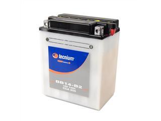 Batterie TECNIUM BB14-B2 conventionnelle livrée avec pack acide - 329851