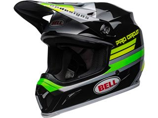 Casque BELL MX-9 Mips Pro Circuit 2020 Black/Green taille L - 801000230170
