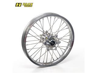 HAAN WHEELS Complete Rear Wheel 19x2,15x36T Silver Rim/Silver Hub/Silver Spokes/Silver Spoke Nuts