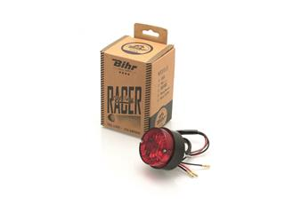 BIHR Beacon Vintage Rear Light Homologated Black
