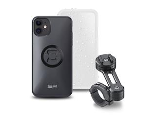 SP-CONNECT Moto Bundle fixed on Handlebar iPhone 11