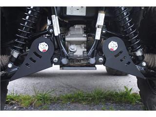 Proteção de braço de suspensão traseiro AXP, polietileno PEAD, 6 mm, Kawasaki