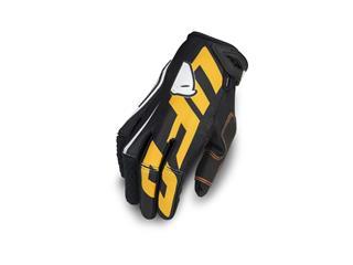 UFO Blaze Gloves Black/Orange Size L - 828000470110