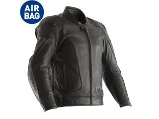 RST GT Airbag CE Jacket Leather Black Size 4XL Men