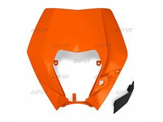 Plaque numéro frontale UFO KTM orange - 78698653