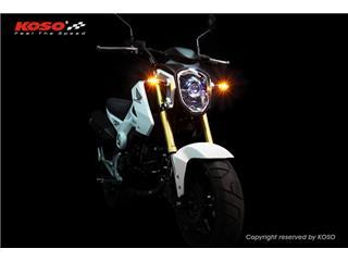 KOSO Mars LED Indicator Black/Smoked Universal by unit - 910a4954-8fe0-4b95-b78f-75b3dc2a9c40