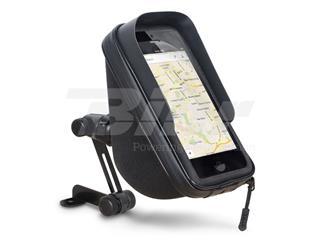 Soporte al retrovisor + funda + bolsillo 1L para Smartphone 6.6''