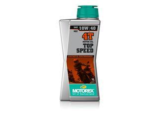 Huile moteur MOTOREX Top Speed 4T 10W40 synthétique 1L