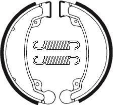 Machoires de frein TECNIUM BA069 organique