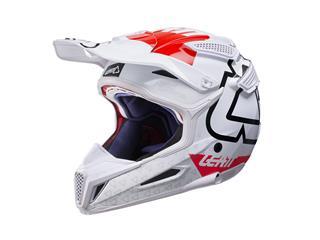Helmet Leatt Gpx 5.5 V15 Wht/Red/ Size Xl / 61-62Cm
