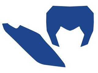 Fonds de plaque BLACKBIRD bleu Sherco SE/SE-F - 78102378