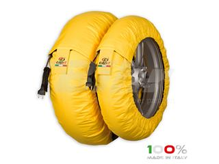 Calentadores CAPIT Suprema Spina Color amarillo (17'' - Del.120/Tra.200/55)