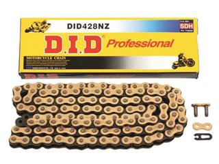 D.I.D 428 NZ Transmission Chain Gold/Black 138 Links
