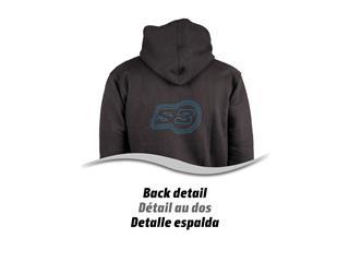 S3 Alaska Hoodie Black/Blue Size L - 92aae520-50dd-4343-b6da-78dc46e0c8a6