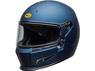 BELL Eliminator Helmet Vanish Matte Blue/Yellow Size XS