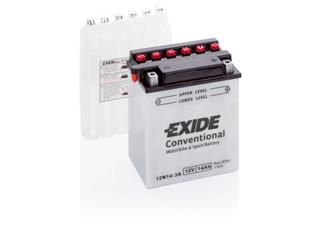 Batteri Exide 12N14-3A Conventional  Inklusive Syrapack