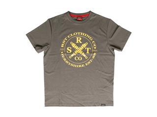 T-shirt (Homem) RST CLOTHING CO Cinzenta/Mostarda, Tamanho M