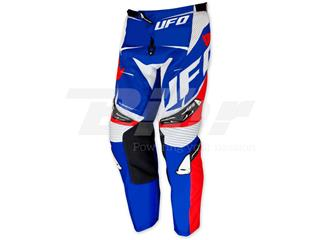 Pantalón UFO Element azul/rojo talla 46