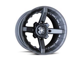 M23 FLAT BLACK 14X7 10MM 4X110