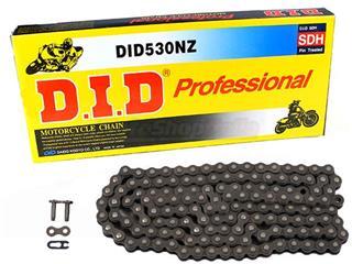 Chaîne de transmission D.I.D 530 NZ noir 106 maillons